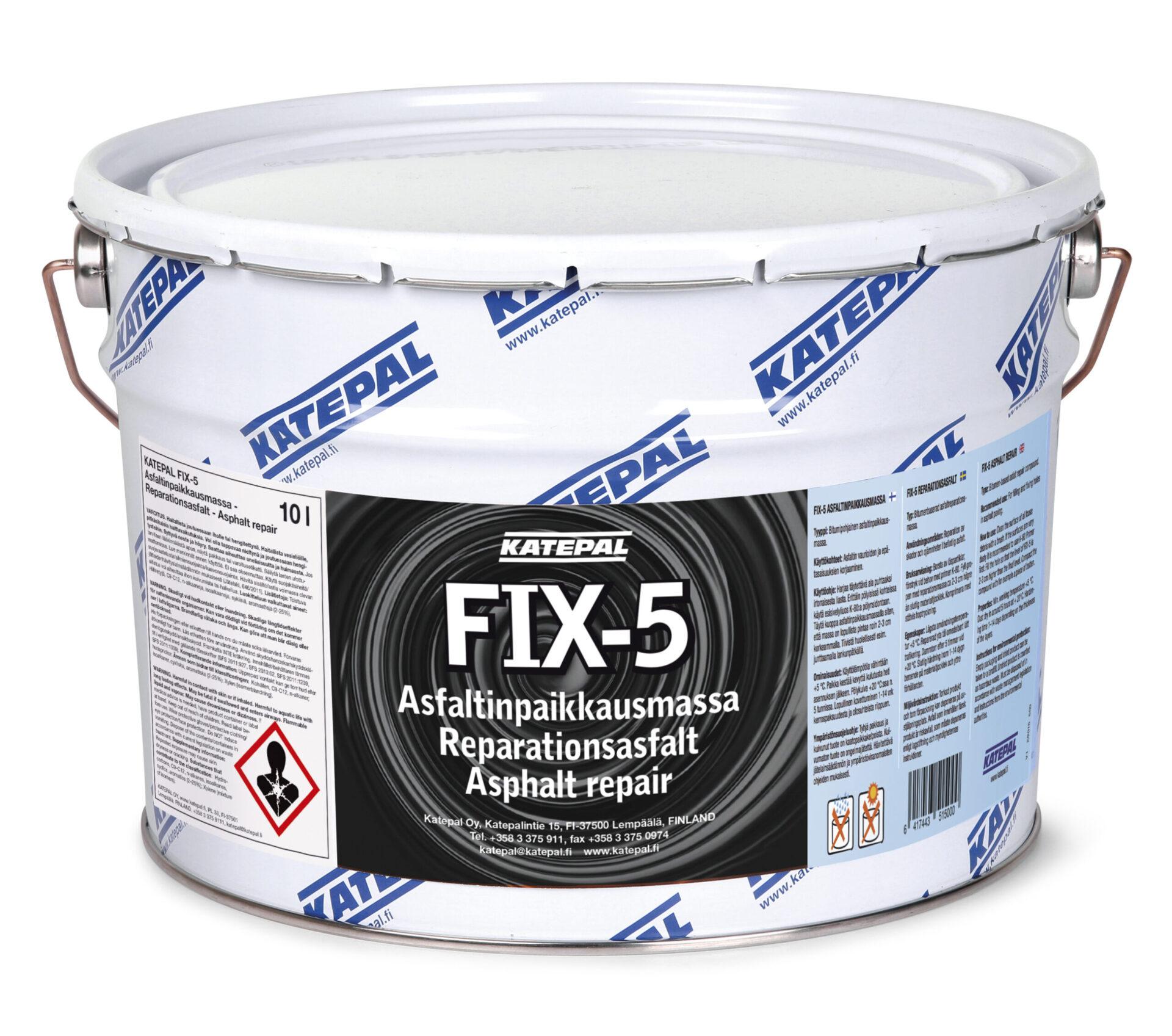 FIX-5 Asfaltinpaikkausmassa